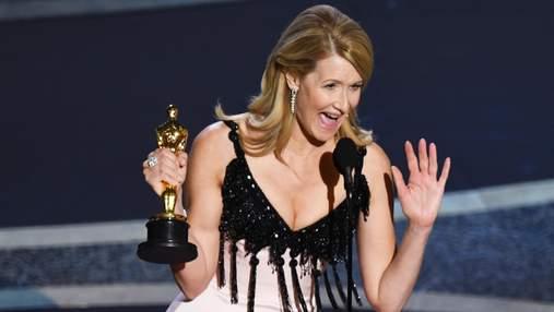 """Зірка фільму """"Шлюбна історія"""" Лора Дерн отримала свій перший Оскар"""