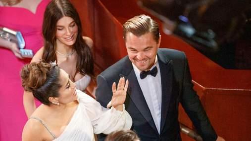 Леонардо Ді Капріо та Каміла Морроне з'явилися разом на церемонії Оскар-2020