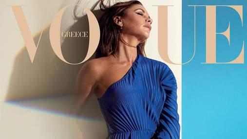Виктория Бекхэм снялась в роскошной фотосессии для Vogue