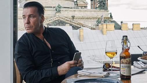 Солиста Rammstein заметили в одном из киевских заведений: видео