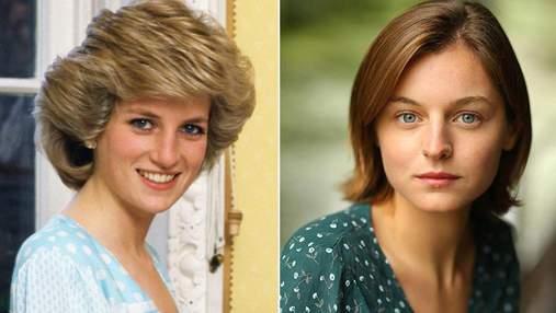 """Акторка Емма Коррін вразила схожістю з принцесою Діаною: кадри зі зйомок серіалу """"Корона"""""""