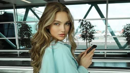 """""""Ангел"""" Victoria's Secret Роми Стрейд в банном полотенце призвала всех не выходить из дома: фото"""