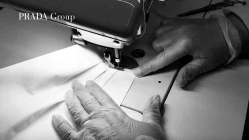 Prada изготовит почти по 100 тысяч медицинских масок и защитных костюмов