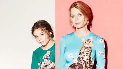 Ольга Фреймут показала фото из детства, на котором поразительно похожа со своей дочерью