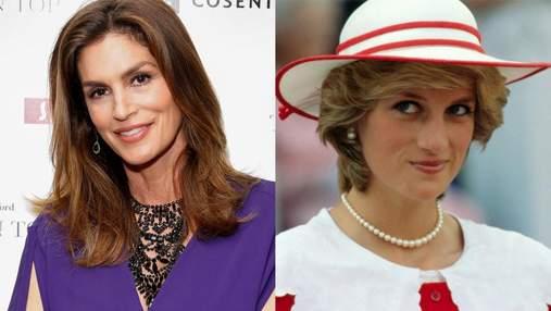 Синди Кроуфорд и Наоми Кэмпбелл рассказали о встрече с принцессой Дианой
