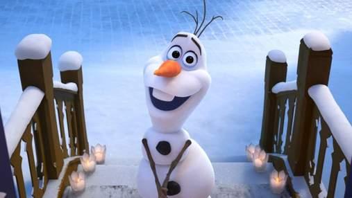 """""""Вдома з Олафом"""": представники Disney створили мультсеріал для дітей на карантині"""