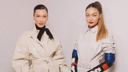 Джиджи и Белла Хадид снялись для обложки парижского Vogue: фантастические фото