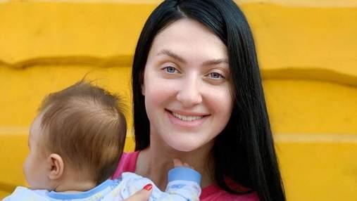 Сніжана Бабкіна розповіла про материнство: Святість, космос і любов