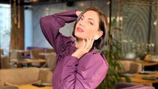 Оля Цибульская показала архивное фото: как артистка выглядела в начале своей карьеры