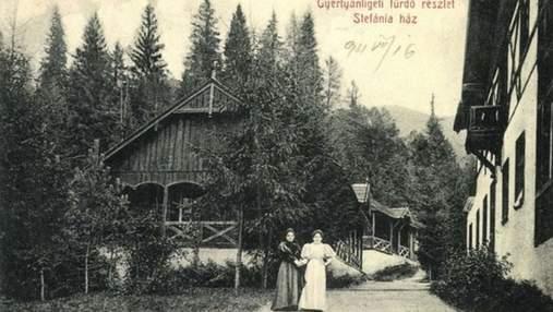 Как выглядели лучшие курорты Закарпатья в XIX – XX веке: исторические фото