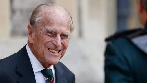 99-летний принц Филипп в третий раз за год появился на публике, для передачи титула жене Чарльза