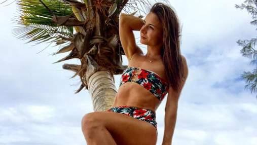 Беременная Илона Гвоздева отдыхает в Турции: жаркое фото в купальнике