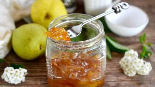 Варенье из груш на зиму: рецепты приготовления на любой вкус