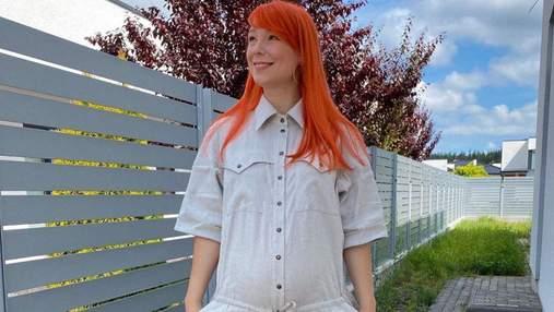 В белом платье: беременная Светлана Тарабарова очаровала безупречным летним образом – фото