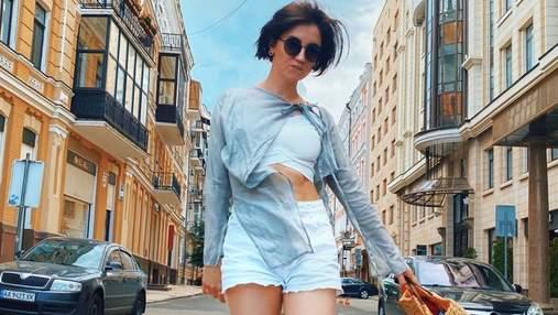 В леопардовой юбке с разрезом: Оля Цибульская отправилась во Львов – жаркое фото