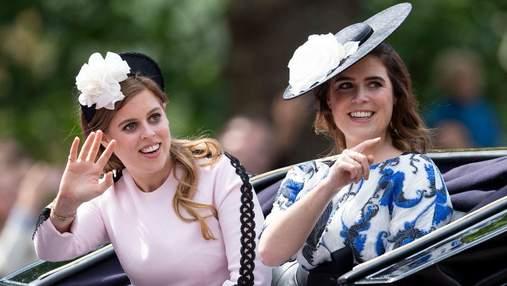 Внучки Елизаветы II без макияжа: редкое фото принцессы Евгении и принцессы Беатрис