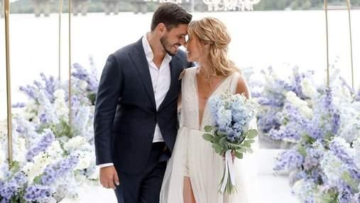 Даша Квіткова зачарувала мережу романтичними світлинами з весілля