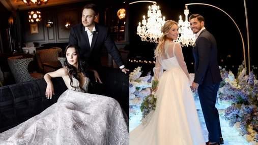 Зіркові весілля: які знамениті пари одружилися цього літа