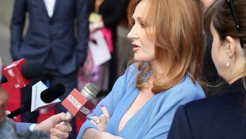Джоан Роулінг повернула нагороду за права людини після скандалу з трансфобією