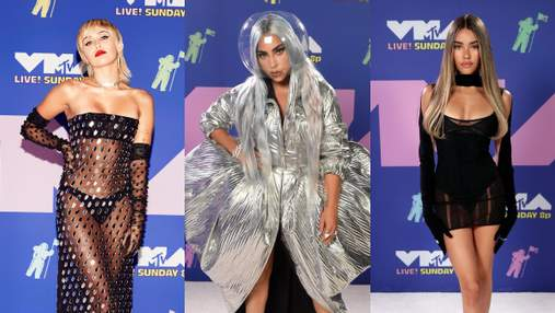 MTV Video Music Awards 2020: как оделись звезды на красную дорожку
