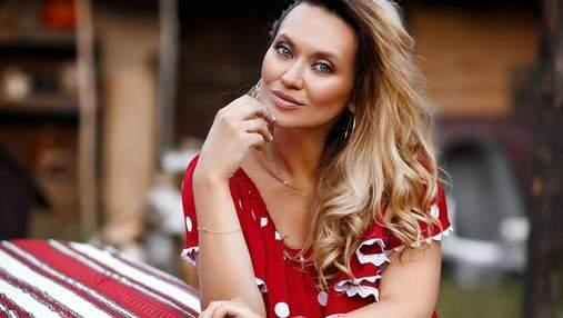"""Звезда """"свингеров"""" Анна Саливанчук во второй раз стала мамой и показала видео с родов"""