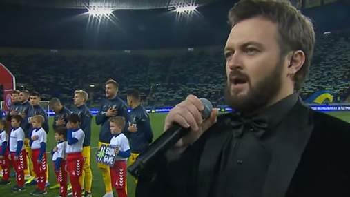Гимн Украины перед матчем с Испанией в Мадриде исполнит Дзидзьо