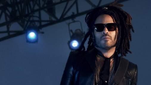 Легенда рок-музыки Ленни Кравиц стал лицом аромата YSL и спел в рекламе