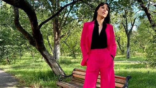 У красивій сукні: Маша Єфросиніна відвідала захід та показала модний образ