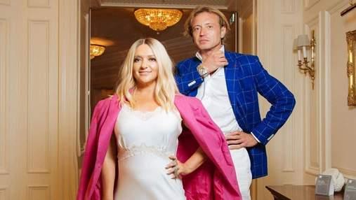 В белом платье: Наталья Могилевская посетила дизайнерский показ с миллионером