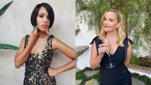 Розкішні сукні та зачіски: як голлівудські актриси виглядали на віртуальному врученні Еммі-2020