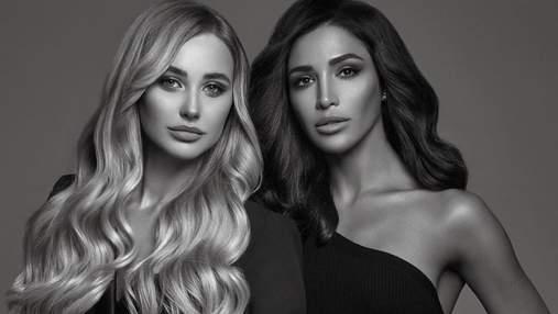 Украинки с разными типажами внешности – представители новых линеек бренда Kerastase