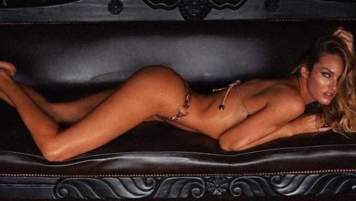 Кендіс Сванепул одягнула сорочку на оголене тіло: пікантні фото 18+