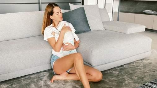 Міс Україна Олеся Стефанко показала маленького сина: миловидне фото