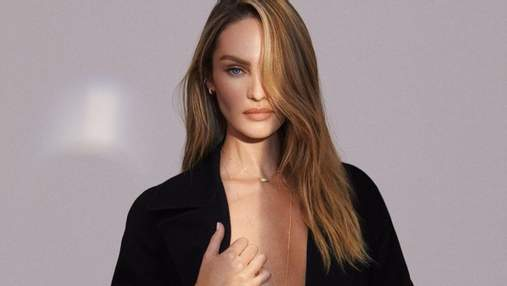 В мокром платье: Кэндис Сванепул завела сеть эротическим фото, где показала обнаженное тело