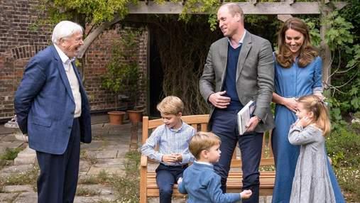 Діти герцогів Кембриджських поставили питання улюбленій зірці: зворушливе відео