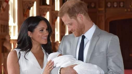 Меган Маркл та принц Гаррі розповіли про перші кроки малюка Арчі