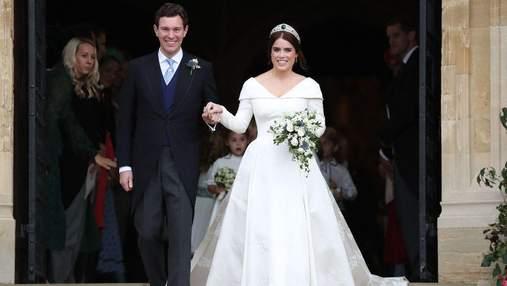 Принцесса Евгения опубликовала эксклюзивные фото с любимым по случаю годовщины свадьбы