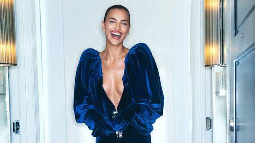 В платье с леопардовым принтом: Ирина Шейк показала дерзкий образ – фото в постели