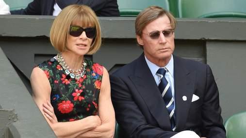 Редакторка Vogue Анна Вінтур розлучилась з чоловіком після 16 років шлюбу, – ЗМІ
