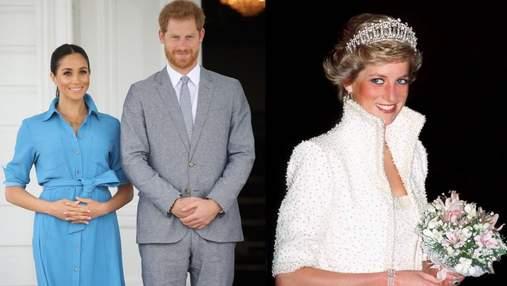 """Історія повторюється, – зірка """"Корони"""" розповіла про схожість принцеси Діани і Меган Маркл"""