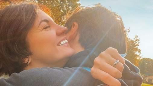 Оля Цыбульская очаровала сеть редкими фотографиями с мужем