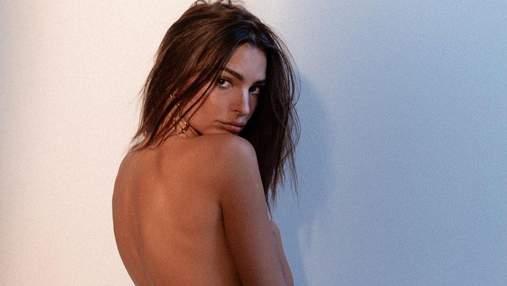Вагітна Емілі Ратажковскі позувала повністю оголеною: еротичні фото 18+