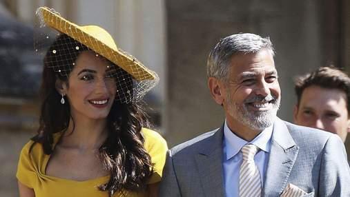Джордж и Амаль Клуни не знали принца Гарри и Меган до приглашения на их свадьбу