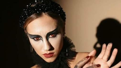 Черный лебедь: мистический образ на Хэллоуин от Даши Квитковой – фото и видео