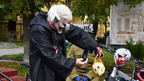 """""""Найстрашніший"""" велопарад року відбувся у Вінниці: вражаючі фото та відео"""