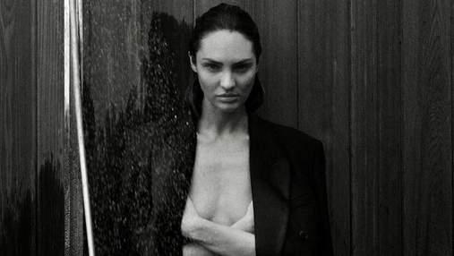 На фоне живописных пейзажей: Кэндис Свайнпол показала эротические фото в купальнике