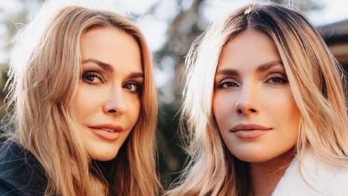 Как две сестры: Ольга Сумская поразила сеть сходством со своей дочкой