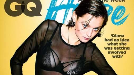 """Не в стилі скромної Діани: зірка """"Корони"""" Емма Коррін показала оголене тіло у зйомці 18+"""