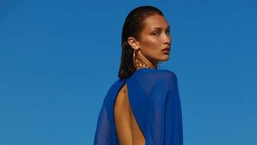 Сексуальная Белла Хадид с обнаженной грудью позировала для Vogue: дерзкие кадры