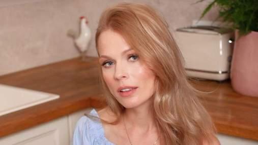 Ольга Фреймут показала элегантный образ и рассказала о любви к себе